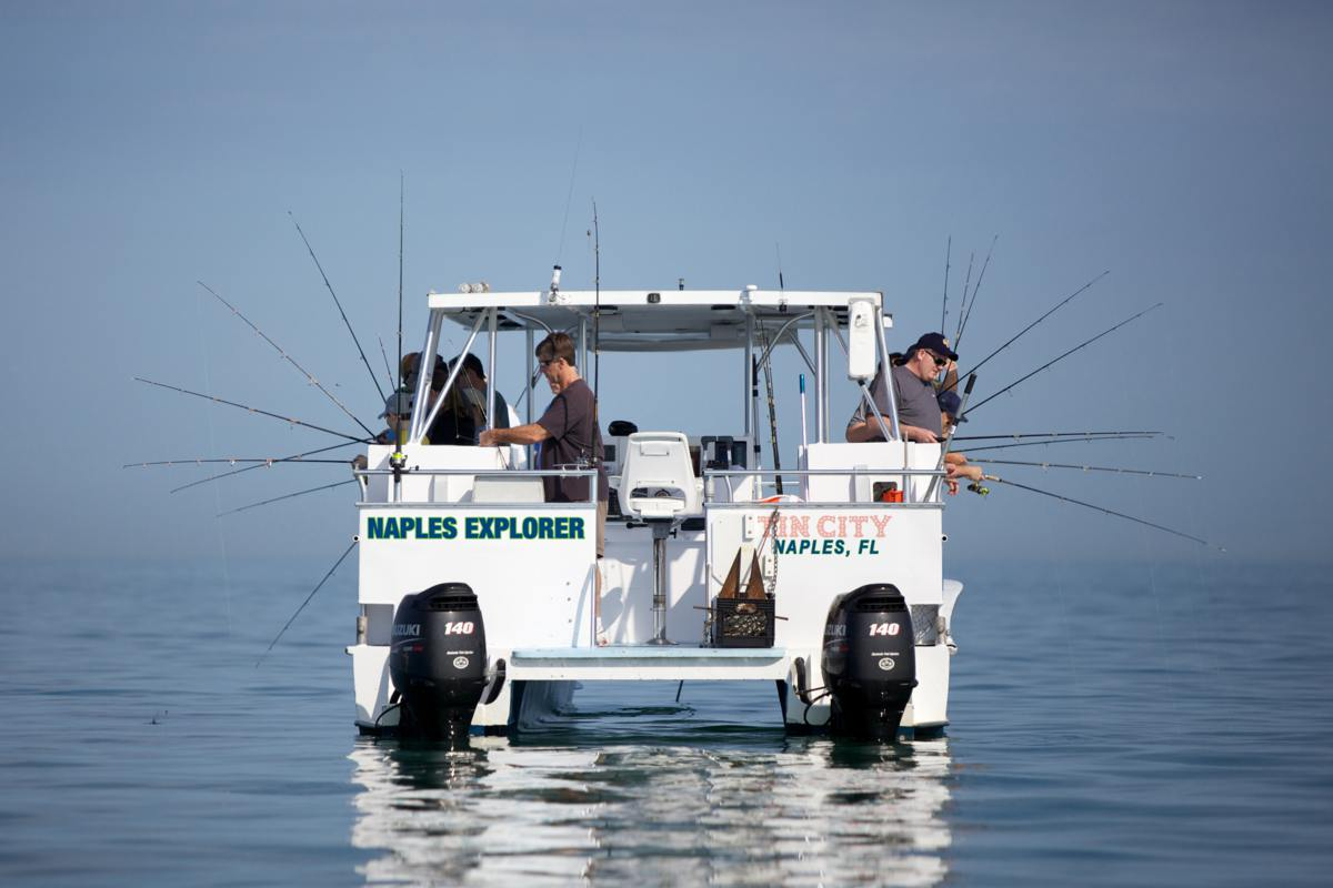 About us pure naples fishing for Naples deep sea fishing